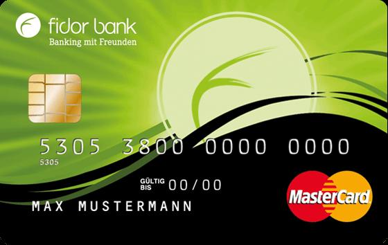 Fidor Bank MasterCard