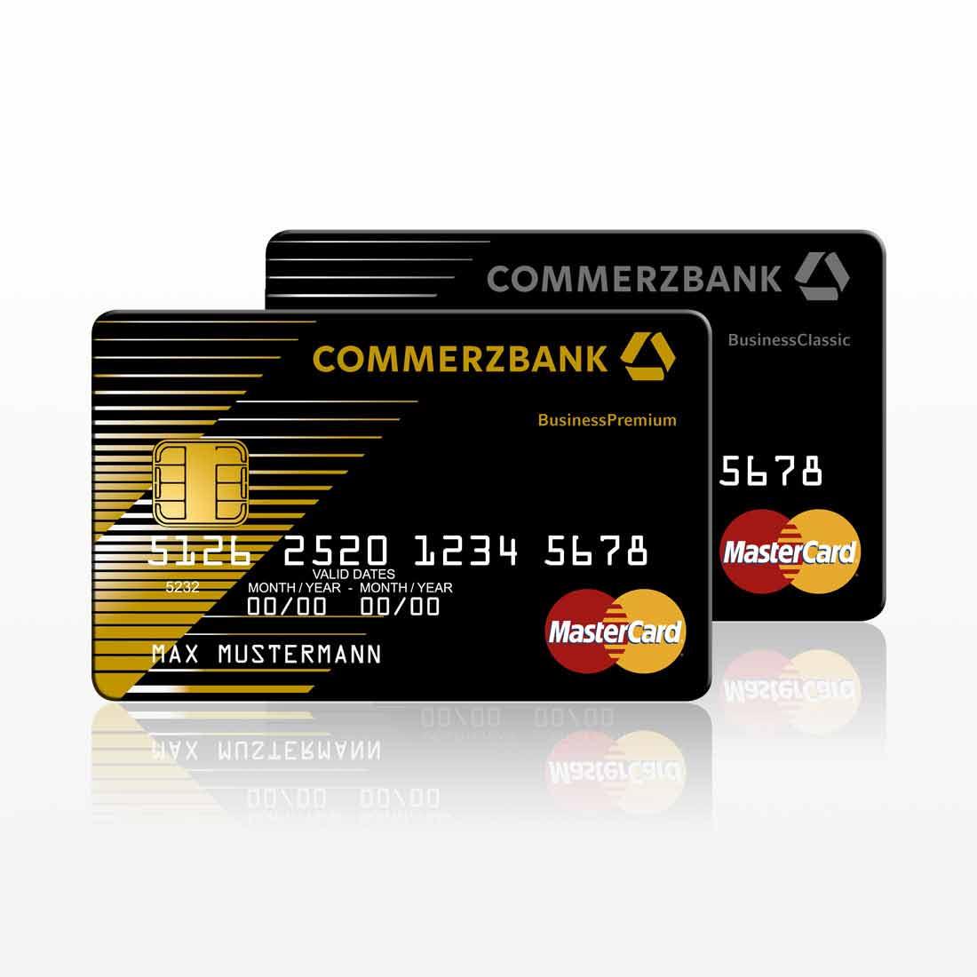 Commerzbank Geschäftskonto Kreditkarte